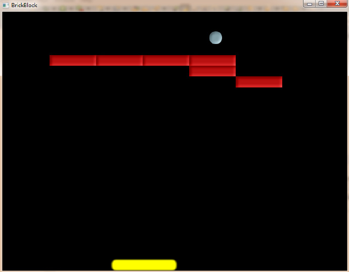 JavaFX游戏 打砖块